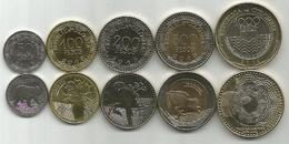 Colombia 50 - 100 - 200 - 500 - 1000 Pesos 2016. High Grade Set - Colombie