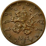 Monnaie, Tchécoslovaquie, 50 Haleru, 1947, TB+, Bronze, KM:21 - Tchécoslovaquie
