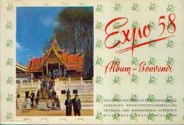 « EXPO 58 – Album - Souvenir» - Ets Gén. D'imprimerie, Bxl 1958 - Belgio