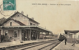 SORCY  Intérieur De La Gare Principale - France