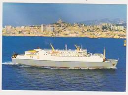 26805 Marseille France PORTO CARDO - Compagnie Méridionale Navigation Bataeu Ferry --Asphodele PH19bis - Traghetti