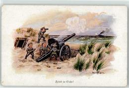52923546 - Sign. Hoffmann Ad. Kind In Uniform - War 1914-18
