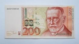 200 DM 1996 Ro 311a,  Noch Fast Kassenfrisch,  Near To About UNC - 200 Deutsche Mark