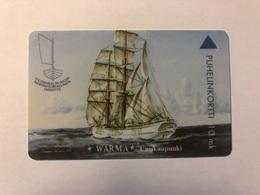 Finland - Warma - Sailing Ship - 1000 Ex - Finland