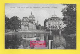 CPA ֎ GERMANIA ֎ BRANDEBURGO ֎ Blick Von Der Havel Auf StadtSchloss Nikolaikirche ֎ - Potsdam