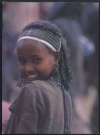 WC207 YOUNG GIRL AT SANBATE MARKET - Ethiopie