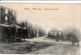 VISE RUINES 1914 - Wezet
