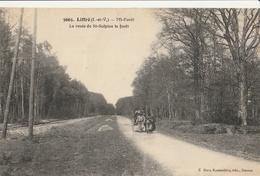LIFFRE  Mi-forêt, La Route De St Sulpice La Forêt - France