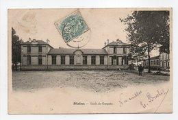 - CPA STAINS (93) - Ecole De Garçons 1904 - Publicité CHAUSSURES SUR MESURE BROCHET - - Stains