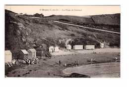 22 Erquy La Plage De Caroual Les Cabines - Erquy