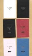 6 Cartes Parfumées Embossed Perfume Cards PRADA * Toutes Différentes - Perfume Cards
