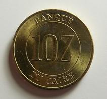 Zaire 10 Zaires 1988 Varnished - Zaïre (1971-97)