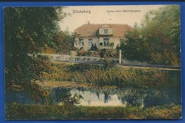GLÜSCKSBURG    Partie Beim Bahnübergang   écrite En 1916 - Gluecksburg
