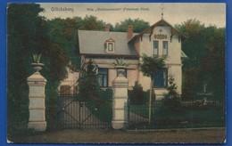 GLÜSCKSBURG    Villa  Waldmannsruh   Petersens Alice     écrite En 1916 - Gluecksburg