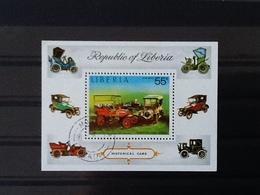 Liberia Block Historical Cars. - Liberia