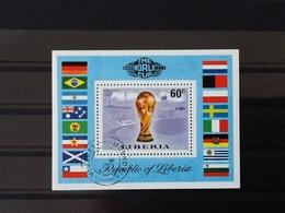 Liberia Block The World Cup Munich 1974. - Liberia