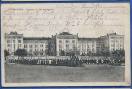 HILDESHEIM    Kaserne An Der Steingrube   Animées   écrite En 1915 - Allemagne