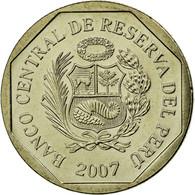 Monnaie, Pérou, 50 Centimos, 2007, Lima, SUP, Copper-Nickel-Zinc, KM:307.4 - Pérou