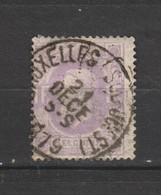COB 36 Oblitéré BRUXELLES (Sud-Ouest) - 1869-1883 Léopold II