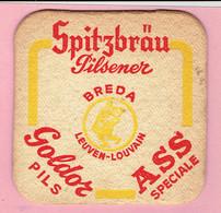 Bierviltje - Spitzbräu Pilsener - BREDA - LEUVEN - LOUVAIN - Goldor Pils - ASS Speciale - Sous-bocks