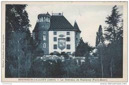 38 - BOURGOIN JALLIEU / LE CHATEAU DE ROSIERES - Bourgoin