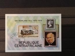 Central African Republic Block Sir Rowland Hill. - Centrafricaine (République)