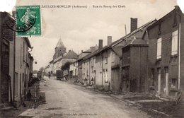 / Saulces Monclin - Rue Du Bourg Des Chefs (voir état) - Altri Comuni