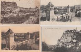19 / 2/ 109  -  S00  CPA / CPSM  DU. DEPT.  46  À  26€ ,50  +. PORT  ( 8€ ,80  POUR  LA FRANCE ) - Cartes Postales