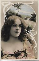 2 Cartes Anciennes / Artiste Femme /  LUCA MAC LORD & E DE VERE / Art Nouveau / Reutlinger 1289 & 1208 - Artistas