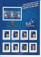 Timbres Autoadhésif équipe De France Foot Neuf ** - France