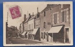 SULLY-sur-LOIRE    Rue Du Grand Sully   écrite En 1937 - Sully Sur Loire