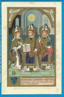 Holycard   St. Evermodus    Ludolphus   Isfridus - Images Religieuses