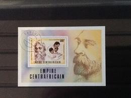 Central African Republic Block Nobel Price Litterature. - Centrafricaine (République)