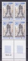 N° 2008 Europa  1978 : Fontaine Des Innocents à Paris:1 Bloc De 4 Timbres Neuf Impeccable - Unused Stamps