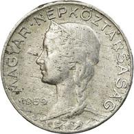 Monnaie, Hongrie, 5 Filler, 1959, Budapest, TB+, Aluminium, KM:549 - Hongrie