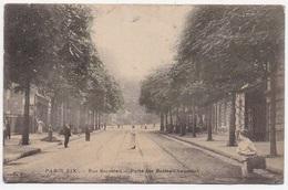 CPA 75 PARIS 19 EME Rue Secretan Porte Des Buttes Chaumont - Arrondissement: 19