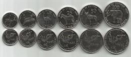 Eritrea 1997. Complete Coin Set Of 6 Coins 1 - 5 - 10 - 25 - 50 - 100 Cents - Erythrée