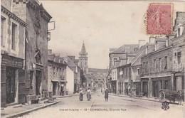 COMBOURG - Grande Rue - Sellerie, Sommiers, Matelas, Maison Ridé - Animé - Très Bon état - Combourg