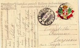 POSTA MILITARE IN FRANCHIGIA-FRONTE DI GUERRA -1918 - Guerre 1914-18