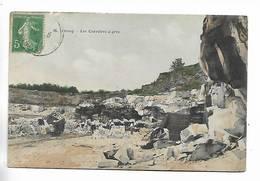 91 -  ORSAY - Les Carrières à Grès. Carte Colorée - Orsay