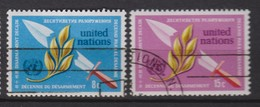NATIONS UNIES (New-York) 1973:  La Série 'Décennie Du Désarmement', Oblitérés - Ungebraucht