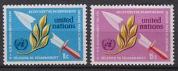 NATIONS UNIES (New-York) 1973:  La Série 'Décennie Du Désarmement', Neufs ** - New York -  VN Hauptquartier