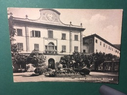 Cartolina S.Giuliano Terme - Ist. Naz. Previdenza Sociale - 1918 - Pisa