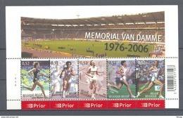 BLOK 129 IVO VAN DAMME  POSTFRIS** 2006 - Blocks & Sheetlets 1962-....