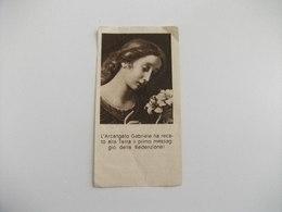 L'ARCANGELO GABRIELE HA RECATO ALLA TERRA IL PRIMO MESSAGGIO DELLA REDENZIONE DICEMBRE 1948 - Santini