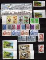 St.Pierre & Miquelon -  Lot Euro Stamps ( 2002 - 2008 ).MNH,NEUFS **- Value 44.80 Euro ( 50 % Discount ).2 Scans - Unused Stamps