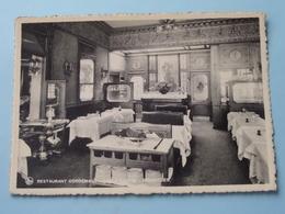 Restaurant CORDEMANS - 6 Petite Rue Au Beurre Bruxelles ( Thill ) Anno 19?? ( Details Zie Foto ) ! - Cafés, Hotels, Restaurants