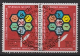 NATIONS UNIES (Genève) 1972:  Commission Economique Pour L'Europe,  Oblitéré - New York -  VN Hauptquartier