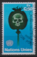 NATIONS UNIES (Genève) 1973:  'Arrêtons L'Abus De La Drogue',  Oblitéré - Ungebraucht
