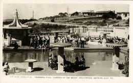 Australia, ARTHURS SEAT, Vic., Swimming Pool, Garden Of The Moon (1940s) RPPC - Australia